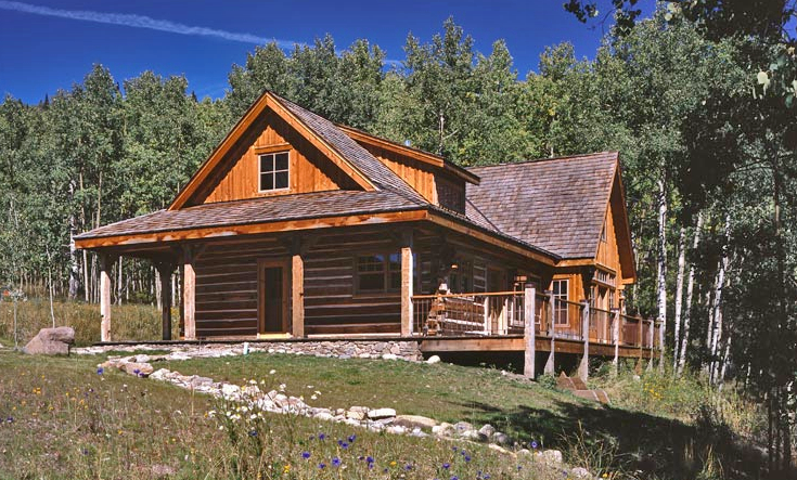 crested butte cabin fairbank construction company